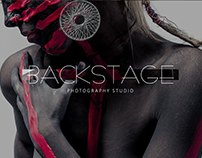 LOGO BACKSTAGE PHOTOGRAPHY STUDIO