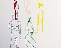 Life drawingx2