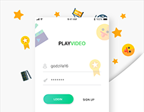 UX/UI for PlayVideo mobile app