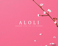 ALOLI - Fashion eCommerce Web & Branding Designs