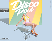 Disco pool - Flyers