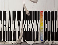 Crazy Sexy Cool (Woodtype)