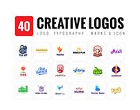 40 CREATIVE LOGOS