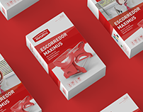 Metaltru: Packaging, Catalog and Exhibition Stand