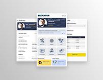 Sekantor App UI Design