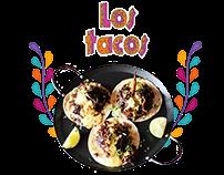 Branding y Diseño web para Los Tacos