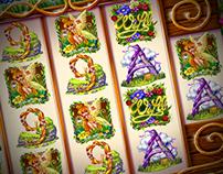 "Slot machine - ""Pixies of the garden"""