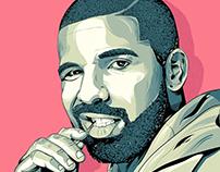 Drake portrait