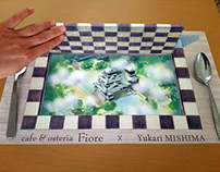 3D Place Mat Designs for a Restaurant in Kumamoto