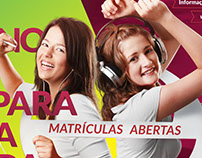 Campanha de matrículas - Colégio São José