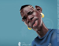 Paul Pogba Caricature
