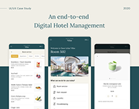 UI/UX Case Study | An end-to-end hotel management