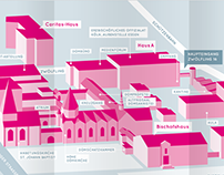 Der Weg zum Generalvikariat des Bistum Essen