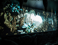 San Miguel Immersive Cave Projection
