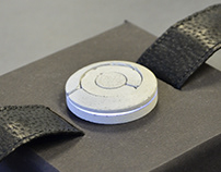 Concrete wrist watch