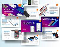 Mobile Portfolio - prezentacja
