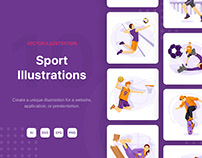 M145_Sport Illustrations