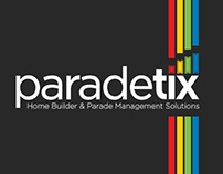 Web Page Design for Company into Parade of Homes
