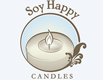 Soy Happy Candles Logo
