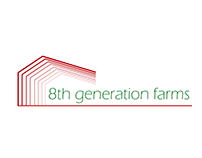 Logo I did for 8th generation farms