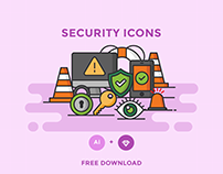 FREE - SECURITY ICONS