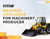 Branded catalogue for machinery producer