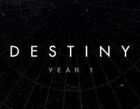 Destiny Year 1 Interface+Visual Design