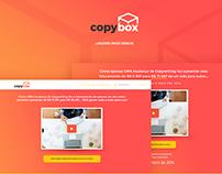 Copybox - Landing Page