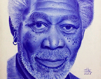 Morgan freeman ballpoint pen by me