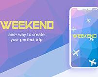 """Mobile app """"WEEKEND"""""""