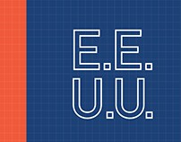 E.E.U.U: An Infographic Book