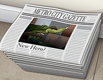 Heroes of Metro City, Origin Story Card