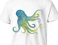 Octopus T-Shirt Design