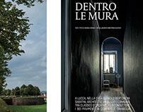 Editorial - VILLEGIARDINI  testo e foto Andrea Vierucci