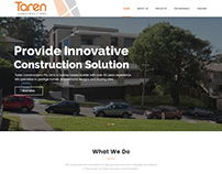 Taren Construction | Website