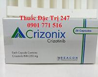 thuốc crizonix 250mg crizotinib - thuốc đặc trị 247