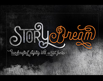Story Dream in font