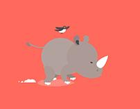 Rhino Running Cycle