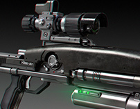 BR8-A1 Wolverine Blaster Rifle