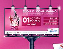 Campagna ADV/Social - Centro Commerciale San GIorgio