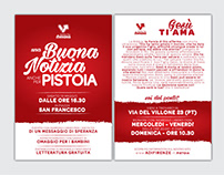 "ADV Campign Christian Events ""Gesù Ama la Toscana"""