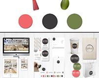 Interior design &corporate identity, DAVVERO restaurant