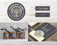 Marple's Yard - Homemade Cookies Branding