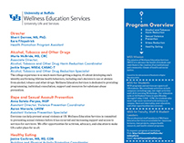 Wellness Education Services Info Sheets