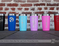 NEW Metal Personalized Tumblers
