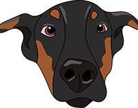 Pooch Perks Dogs, Illustrations