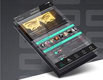 Concert Ticket Booking App Design