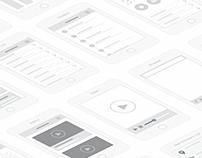 Mobile UI Design Concept