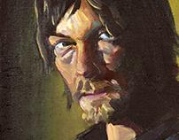 Portrait of Norman Reedus as 'Daryl Dixon'