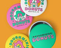 Doughminion Donuts Identity